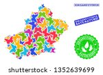 ecological composition of...   Shutterstock .eps vector #1352639699