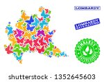 eco friendly composition of...   Shutterstock .eps vector #1352645603