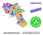 ecological combination of...   Shutterstock .eps vector #1352651213