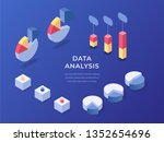 different templates of... | Shutterstock .eps vector #1352654696