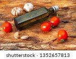 ingredients of traditional... | Shutterstock . vector #1352657813