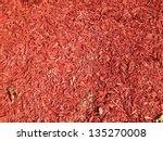 Red Mulch Background