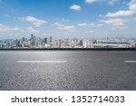 panoramic skyline and modern... | Shutterstock . vector #1352714033