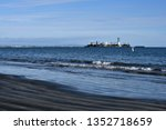 waste from offshore oil... | Shutterstock . vector #1352718659