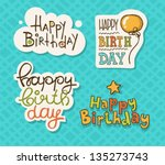 Vector Illustration Of A Happy...