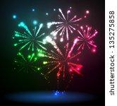 firework | Shutterstock .eps vector #135275858