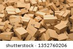 cardboard boxes  logistics and... | Shutterstock . vector #1352760206