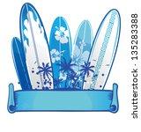 surfboard background 2   Shutterstock .eps vector #135283388