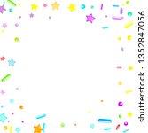 sprinkles grainy. cupcake... | Shutterstock .eps vector #1352847056