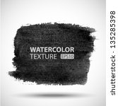 hand drawn watercolor grunge... | Shutterstock .eps vector #135285398