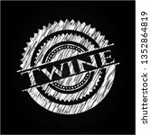 twine with chalkboard texture   Shutterstock .eps vector #1352864819