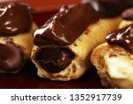 traditional french dessert.... | Shutterstock . vector #1352917739