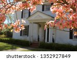 pink dogwood with southen...   Shutterstock . vector #1352927849
