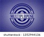 multipurpose with denim texture | Shutterstock .eps vector #1352944136