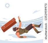 gladiator lost in gladiatorial... | Shutterstock .eps vector #1352959973