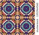 vector illustration. abstract... | Shutterstock .eps vector #1352964560