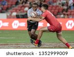 singapore april 28 fiji 7s team ...   Shutterstock . vector #1352999009