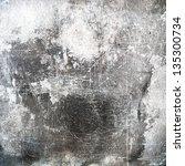 grunge texture  distressed... | Shutterstock . vector #135300734