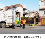 collection and removal of...   Shutterstock . vector #1353027953