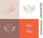 vector set of logo design...   Shutterstock .eps vector #1353029750