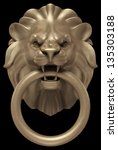 Lion's Head Door Handle....
