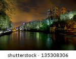 durham cathedral lumiere   an... | Shutterstock . vector #135308306