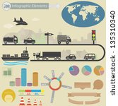 infographics elements. ... | Shutterstock .eps vector #135310340