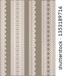 lace border sets | Shutterstock . vector #1353189716