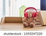 Cute Teddy Bear Wearing Red...
