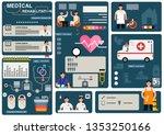 medical rehabilitation... | Shutterstock .eps vector #1353250166