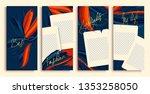 instagram stories templates... | Shutterstock .eps vector #1353258050