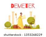 Demeter Cartoon Composition...