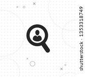 recruitment  find people ... | Shutterstock .eps vector #1353318749