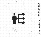 network of people  vector best... | Shutterstock .eps vector #1353319703