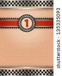 certificate of award  vintage... | Shutterstock .eps vector #135335093