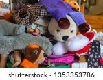 unwanted   forgotten toys     Shutterstock . vector #1353353786