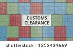 Container With Customs...