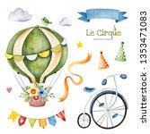 Lovely Circus Set.illustration...