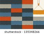shipping | Shutterstock .eps vector #135348266