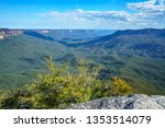 view from sublime point lookout ... | Shutterstock . vector #1353514079