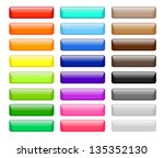 set of colored web buttons | Shutterstock . vector #135352130