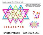 logic puzzle sudoku game for...   Shutterstock .eps vector #1353525653