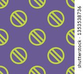 seamless endless repeating flat ... | Shutterstock .eps vector #1353538736