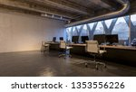 spacious room of business... | Shutterstock . vector #1353556226