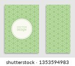 greeting card or invitation... | Shutterstock .eps vector #1353594983