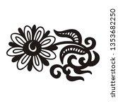 flower. vector illustration   Shutterstock .eps vector #1353682250