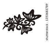 nature pattern of leaves....   Shutterstock .eps vector #1353683789