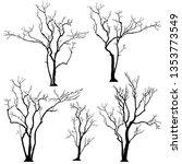 Silhouette Of Tree 9