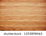 wide angle of natural wood walls | Shutterstock . vector #1353898463