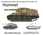 ww2 german hummel self... | Shutterstock .eps vector #135391073
